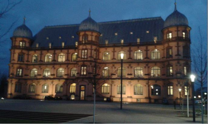 Fachhochschule für Musik, Schloss Gottesaue, Karlsruhe